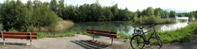 Rhein Radweg Chur Sargans Buchs Bodensee Rorschach